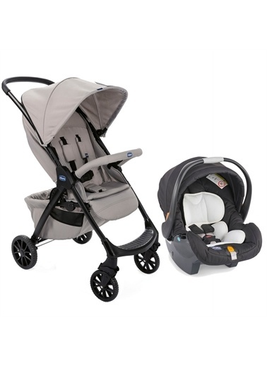 Chicco Chicco Duo Kwik One Travel Sistem Bebek Arabası Bej Bej